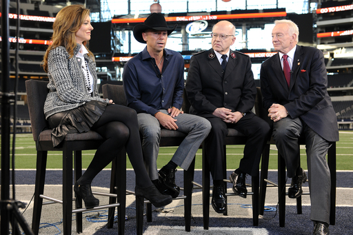 Music superstar Kenny Chesney will kick-off The Salvation Army Red Kettle Campaign with a halftime performance during tomorrow's Dallas Cowboys game LIVE on Fox.
