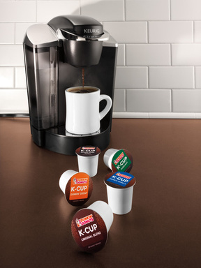 Keurig Machine with Dunkin' Donuts K-Cup Line