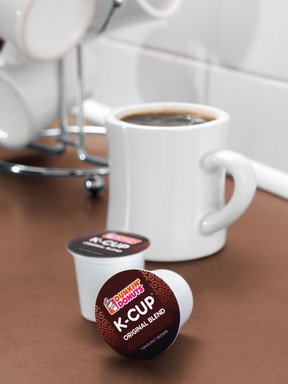Mug with Dunkin' Donuts Original Blend K-Cup