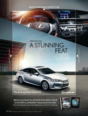 Lexus Sports Illustrated Ad