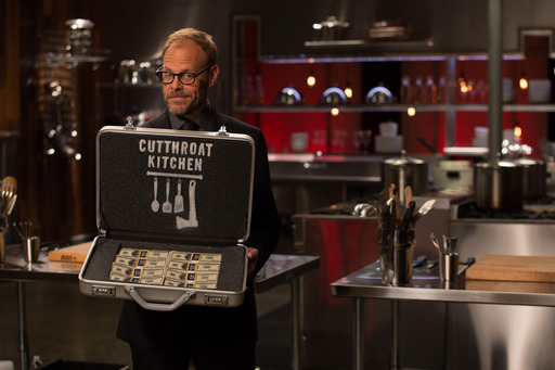 Alton Brown on Food Network's Cutthroat Kitchen