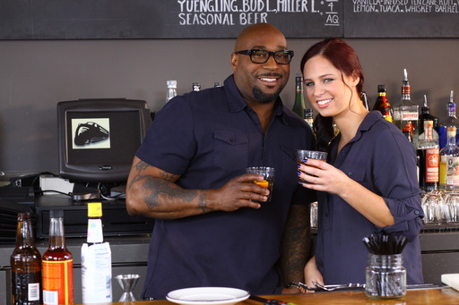 G. Garvin gets behind the bar at JCT Kitchen in Atlanta