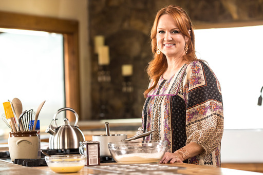 Ree Drummond in Food Network's The Pioneer Woman