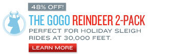 Holiday Jet Packs Reindeer Pack