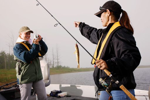 Unlike most sports, there is no end to the fishing and boating season.