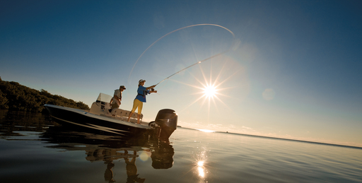 Even the most novice anglers can easily participate in fishing and boating