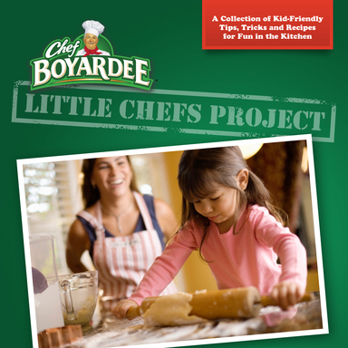 "Chef Boyardee is proud to introduce the ""Little Chefs Project,"" a crowd-sourced e-book written by moms for family time fun in the kitchen!"