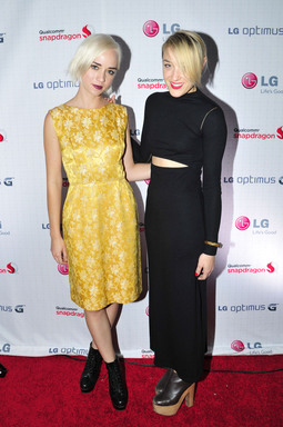 "The Dolls, DJ Mia Moretti and violinist Caitlin Moe, were the featured musical guests at LG's ""Live Without Boundaries"" event at the Hard Rock Hotel San Diego"