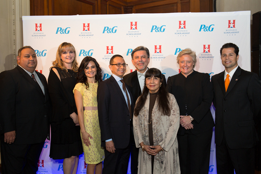 HSF 2012 Alumni Hall of Fame Inductees with President/CEO Frank Alvarez  (center)