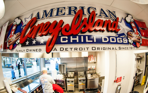 Featured on The Today Show, The Food Network and The Travel Channel, Detroit's iconic American Coney Island restaurant opens its first location outside of Michigan, serving up legendary Coney Dogs.