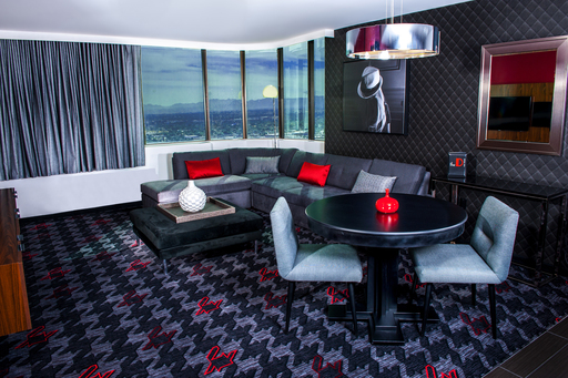 The 14 new luxury suites feature a large, well-appointed entertaining area with three flat-screens, wet-bar and views of the city.