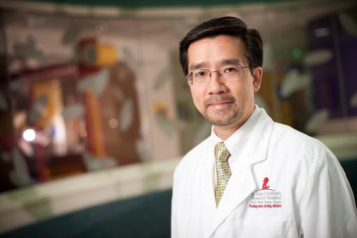 Wing Leung, M.D., Ph.D., of St. Jude Children's Research Hospital, led a new study that shows an immune system marker predicts transplant success and improves selection of bone marrow donors.