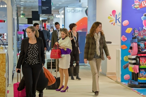 Thousands of luxury and prestige products bound for duty free and travel retail were on show