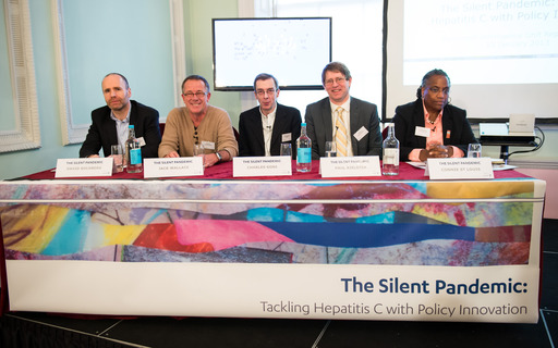 Panel members, EIU report: The Silent Pandemic launch event