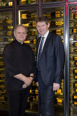 Joël Robuchon - Chef, Dominique Demarville - Veuve Clicquot Ponsardin Cellar Master