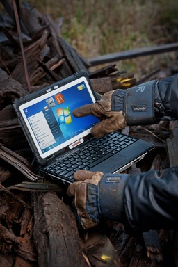The compact and lightweight ALGIZ XRW has a spectacular 10.1-inch touchscreen perfect for field professionals who need a large display which is fully viewable even in bright daylight.