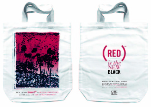 RED Bag Front and back