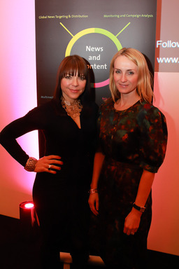 Justine Southall, Publishing Director and Trish Halpin, Editor-in-Chief, Marie Claire