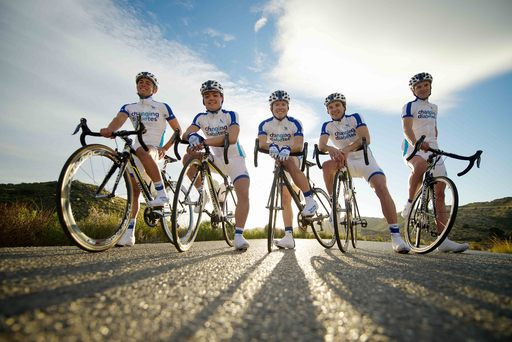 Team Novo Nordisk - the world's first all-diabetes professional cycling team