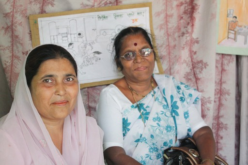 Anwari, community leader in Mumbai featured in the book