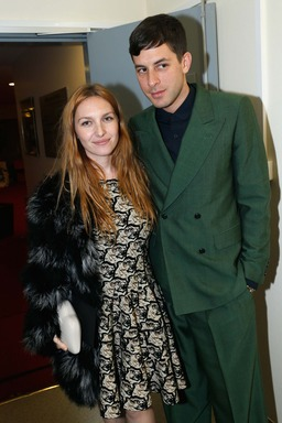 Joséphine de la Baume and Mark Ronson