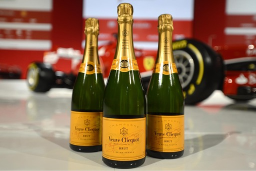 Veuve Clicquot and Ferrari an alliance of excellence