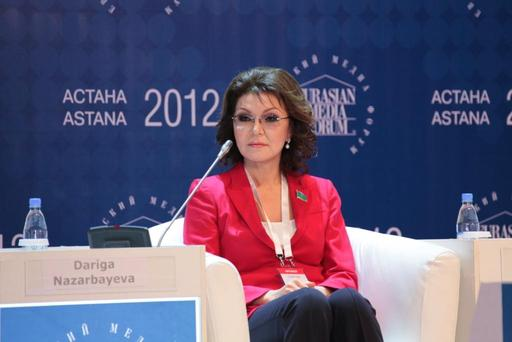 Dr. Dariga Nazarbayeva - Chair of the Organizing Committee