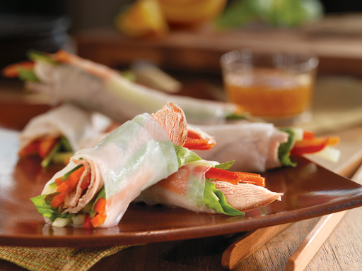 Vietnamese Spring Rolls with Slow-Cooked Pork