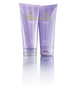 The Viva by Fergie Body Lotion and Shower Gel scent is a sexy daring blend of notes that bring out the duality of a woman.