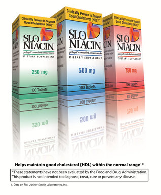 Slo-Niacin®  - Polygel® Controlled-Release Dietary Supplement Niacin