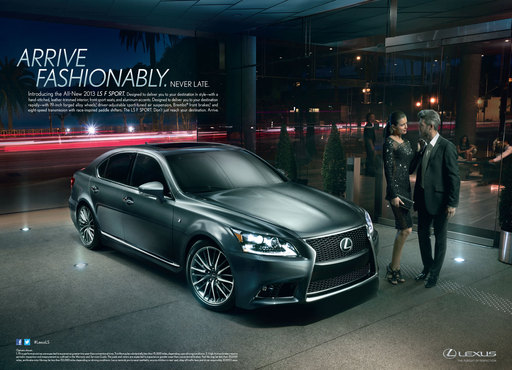 Lexus LS Marketing Campaign