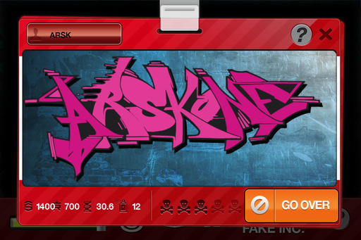 Graffiti Collective is meant to be fun, artistic, and educative. Players can create their own unique graffiti pieces.