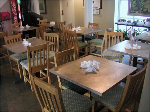 The Ronald McDonald House dining room after its copper retrofit. Photo Credit: South Carolina Research Authority (SCRA)