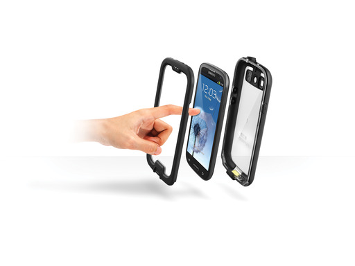 LifeProof nüüd for Samsung Galaxy SIII – the only waterproof, drop-proof case for the Samsung Galaxy without a screen cover.
