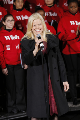 """Megan Hilty at Lord & Taylor's 75th Annual Holiday Window Unveiling"""