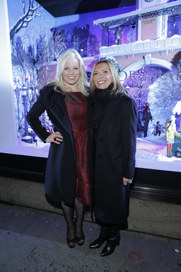 """Liz Rodbell & Megan Hilty at Lord & Taylor's 75th Annual Holiday Window Unveiling"""