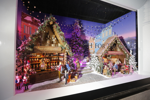 """Lord & Taylor's 75th Annual Holiday Windows"""