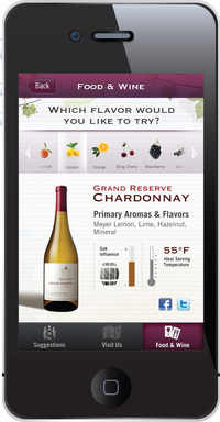 Learn about which flavors and aromas are highlighted in K-J wine, and see how to serve the perfect glass.