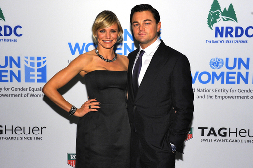 Cameron Diaz and Leonardo DiCaprio join TAG Heuer to give back