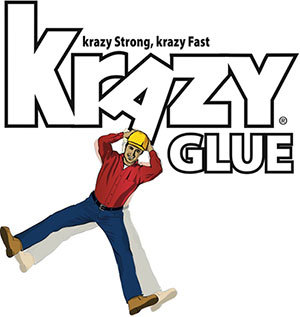 Krazy Glue is the 'krazy' fast, 'krazy' strong adhesive that can fix just about anything.