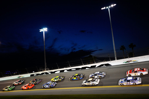 NASCAR Sprint Cup Series drivers will race side-by-side under the lights on the 31-degree high banks of Daytona International Speedway in the Coke Zero 400 Powered By Coca-Cola on Saturday, July 6.