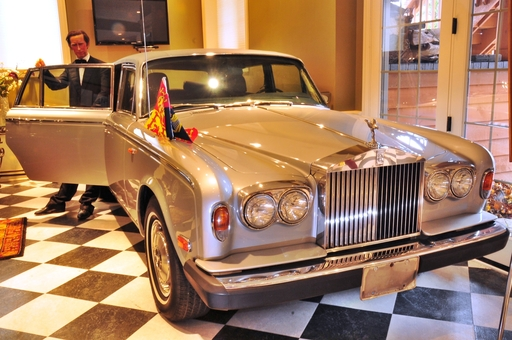 1979 Rolls Royce. The official car of Princess Diana's First US Visit