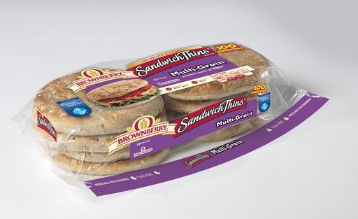 Brownberry Multi-Grain Sandwich Thins rolls