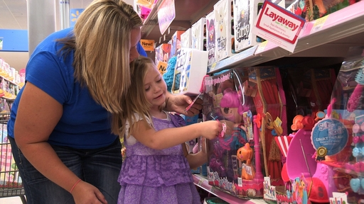 Walmart offers the toys kids want at low prices.