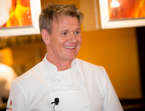 Chef Gordon Ramsay makes history by opening of two restaurants within a week of each other on the Las Vegas Strip: Gordon Ramsay BurGR at Planet Hollywood and Gordon Ramsay Pub & Grill at Caesars Palace.