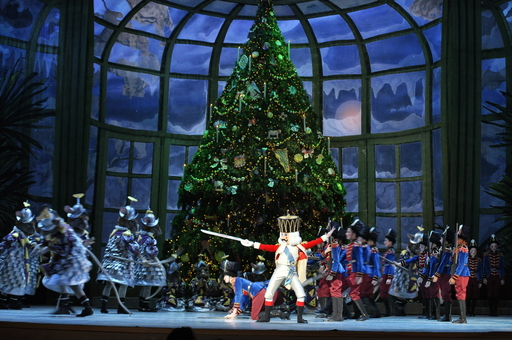 The Pennsylvania Ballet performs George Balanchine's The Nutcracker, a Philadelphia holiday tradition. Credit: Photo by B. Krist for GPTMC