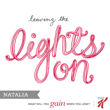 Natalia shares what managing her weight in 2013 means her to her on the Gains Project at SpecialK.com.
