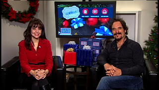 USO SVP Kelli Seely and ''Sons of Anarch'' star Kim Coates encourage Americans to support our troops through USO Wishbook this holiday season