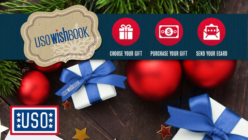 Support Our Troops this Holiday Season. USOWISHBOOK.ORG