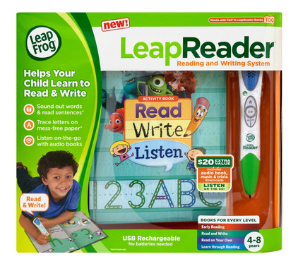 LeapReader, is the complete learn to read and write solution for kids, is the next generation of learning that helps children build literacy skills and reading confidence.